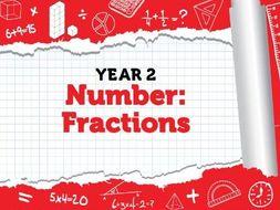 Year 2 - Fractions - Spring - Week 9