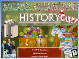 History Quiz Christmas 2019