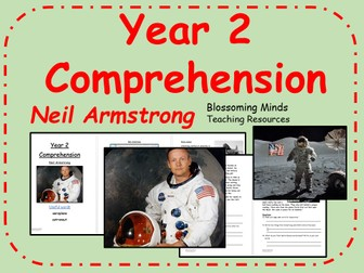 Year 2 Space Comprehension - Neil Armstrong - Science