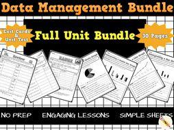 Data Management Worksheets