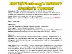 Jay's and Pinckney's Treaty Readers Theatre