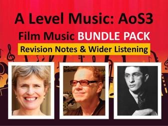 A Level Music: Elfman 'Batman' Notes & Wider Listening by