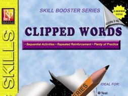Clipped Words: Skill Booster Series
