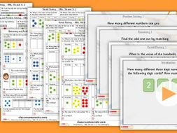 Year 3 100s, 10s and 1s 2 Autumn Block 1 Step 4 Maths Lesson Pack