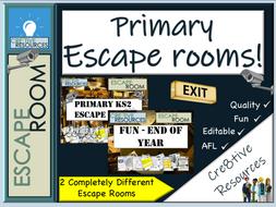 Primary KS2 Escape Rooms
