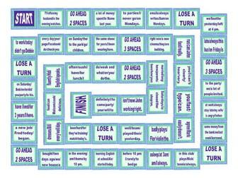 Word Order Board Game