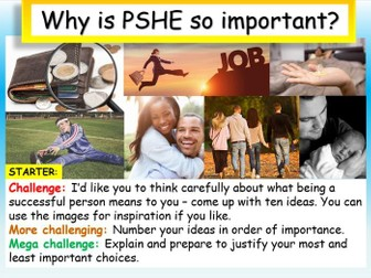 Why is PSHE important?