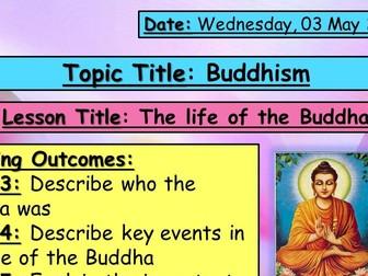 Life of the Buddha - KS3 Buddhism