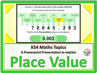 Place Value KS4
