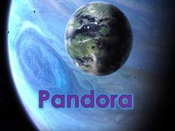 Descriptive Narrative based on the video Pandora (3 week unit) Y4/5