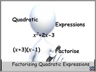 Factorising Quadratic Expressions GCSE