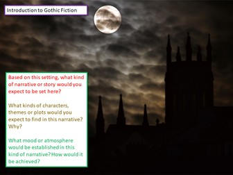 Gothic Fiction Introduction