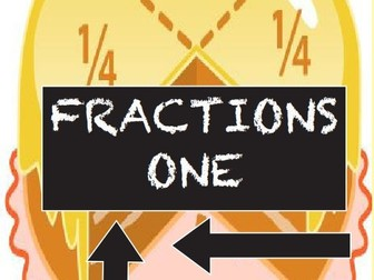 Fractions 1:  is 1/4 bigger or smaller than 1/3 ?