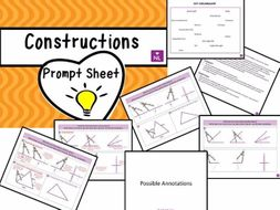 Constructions Prompt Sheet