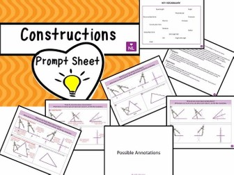 Constructions Prompt Sheet