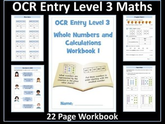 OCR Entry Level 3 Maths - Numbers to 1000