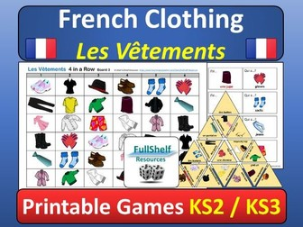 French Clothing Games (Les Vetements)