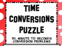 Time Conversions : Minutes and Seconds