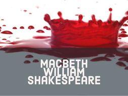Macbeth AQA: Character of Macbeth Revision Postcard