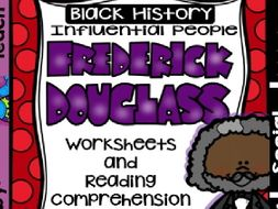 Black History - Influential People - Frederick Douglass (Bilingual Set)