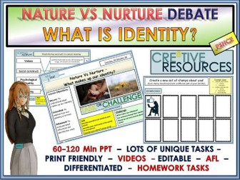 Nature vs Nurture Identity Socialisation