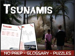 Tsunamis - Puzzles & Glossary