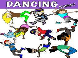 Dance Clipart Street Dance Teaching Resources