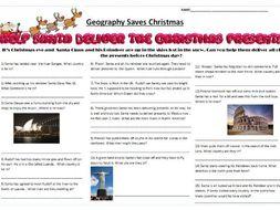 Geography Saves Christmas