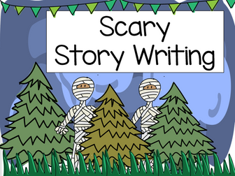 Scary story writing