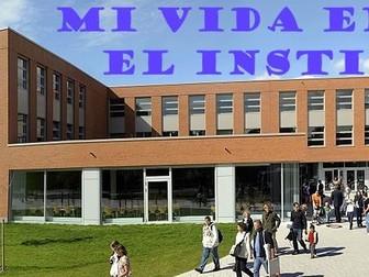 GCSE Spanish Booklet - 2 Mi vida en el insti (Higher)