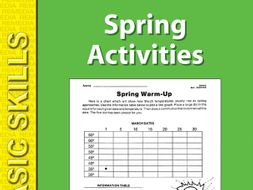 Spring: Seasonal Skill-Builder