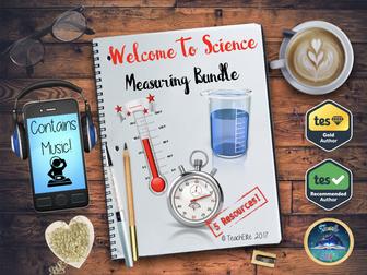 Measuring, Measuring, Measuring!