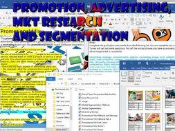 Tech Award Enterprise Level 2 Component Three Assessment A - Promotion