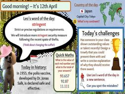Morning Challenges for 366 days of the year - FREE!
