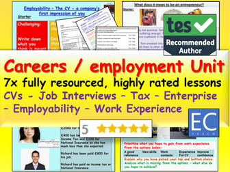 Careers: Careers Unit