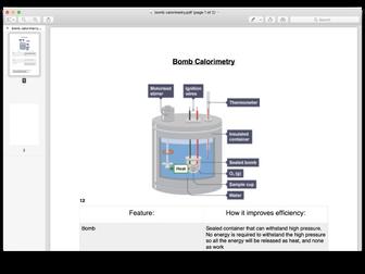 Aqa biology a level bomb calorimetry by 03margolism teaching aqa biology a level bomb calorimetry ccuart Gallery