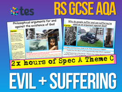 RS GCSE AQA Theme C God and Suffering