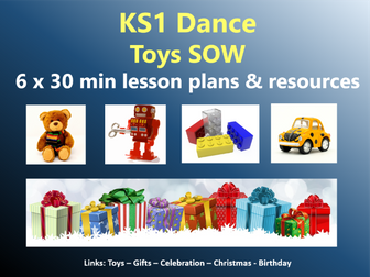 KS1 Dance – Toys topic – Toys SOW