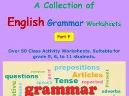 English grammar worksheets part f by ohioleisunlaw teaching english grammar worksheets part f ibookread Read Online