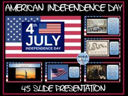 American Independence Day Presentation