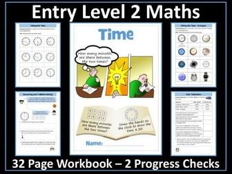 Time AQA Entry Level 2 Maths