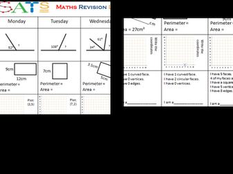 SATs Reasoning Daily Revision Year 6