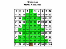 Christmas Maths Booklet - SATS style for Y3/4