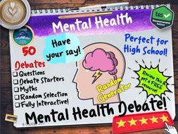 Mental Health Debates PSHE