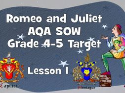 Shakespeare/Globe context - Lesson 1 (Romeo and Juliet)