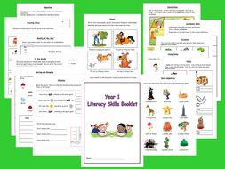 Year 1 Literacy Activities