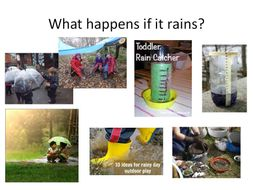 Outdoor preschool training presentaion