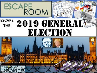 2019 General Election Escape Room