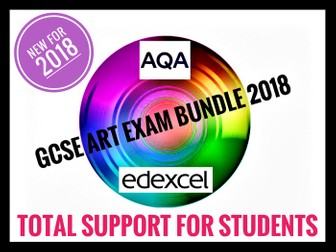 AQA GCSE Art Exam 2018. Analysing Artwork Prompt Sheet for Students