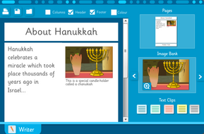 Newspaper Template: Hanukkah News - Hanukkah KS1